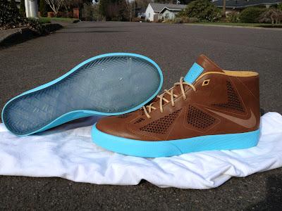 nike lebron 10 sportswear ss lifestyle hazelnut 1 11 Where LeBron X Meets Blazer. Nike LeBron X NSW Lifestyle.