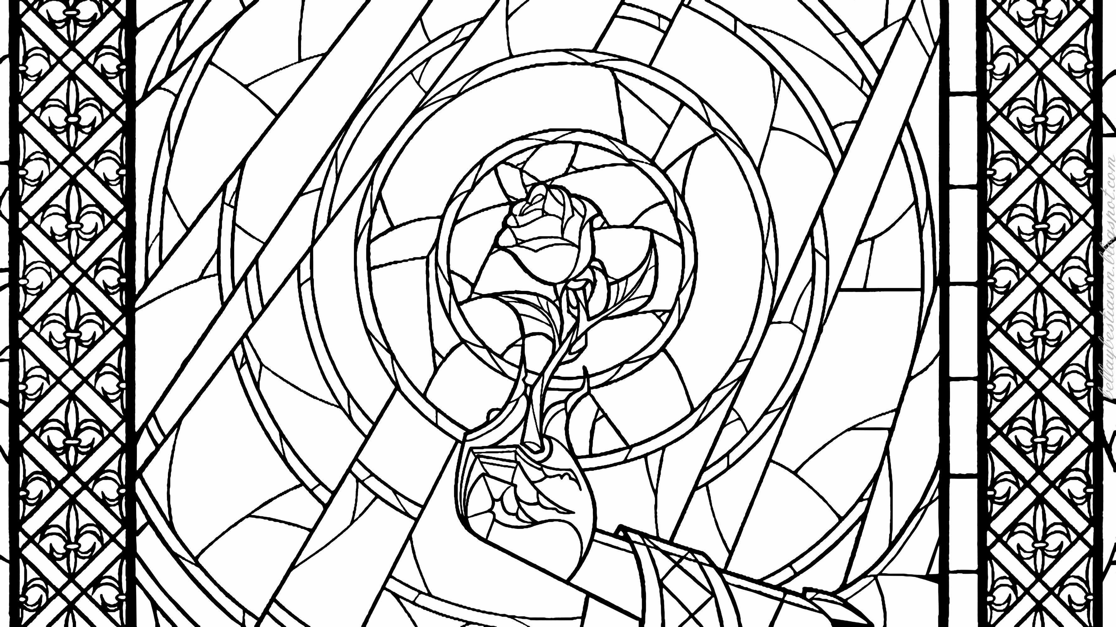 La Bella y la Bestia de Disney - Blog: Dibujos para colorear de las ...
