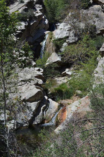 three tiered waterfall
