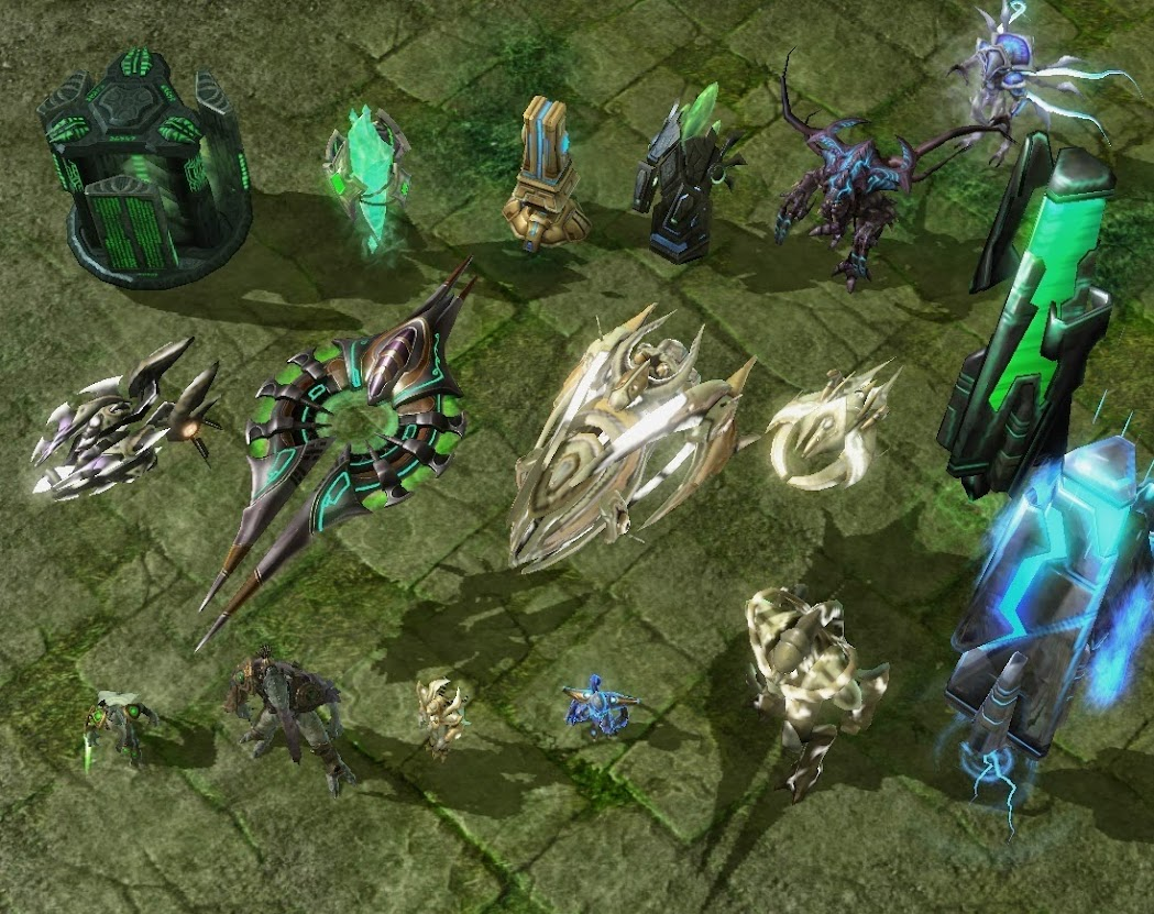 Overview - Starcraft 2 Hero Map - Maps - Projects - SC2Mapster