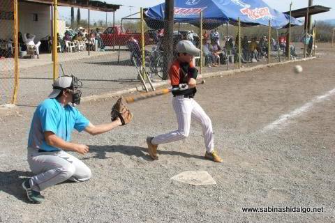 Sangre joven de Astros en el softbol del Club Sertoma