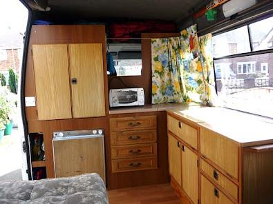 Auto-sleeper Sherbourne Cupboards