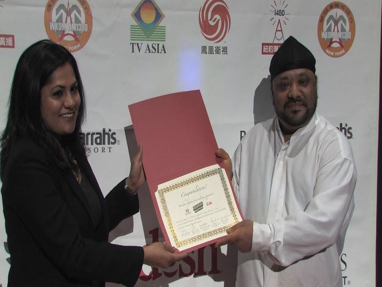 南亚组冠军Indian Garden的大厨Nirmal Singh