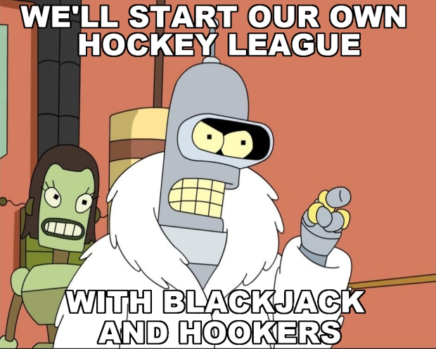 NHL Lockout Bender