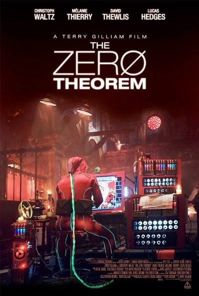 Poster Of English Movie The Zero Theorem (2013) Free Download Full New Hollywood Movie Watch Online At alldownloads4u.com