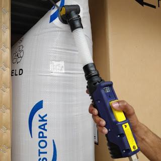 Bao đệm khí chèn hàng container
