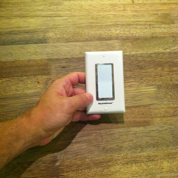 Remote switch for exterior lights!