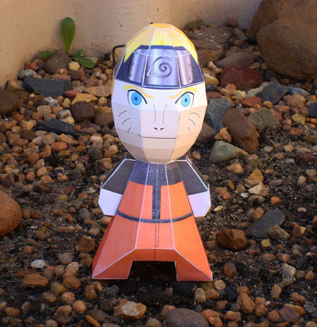 Genetically Altered Naruto Paper Toy