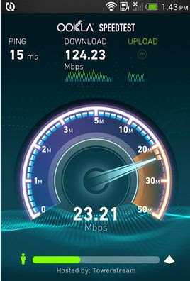 SpeedTest - Ookla en Android
