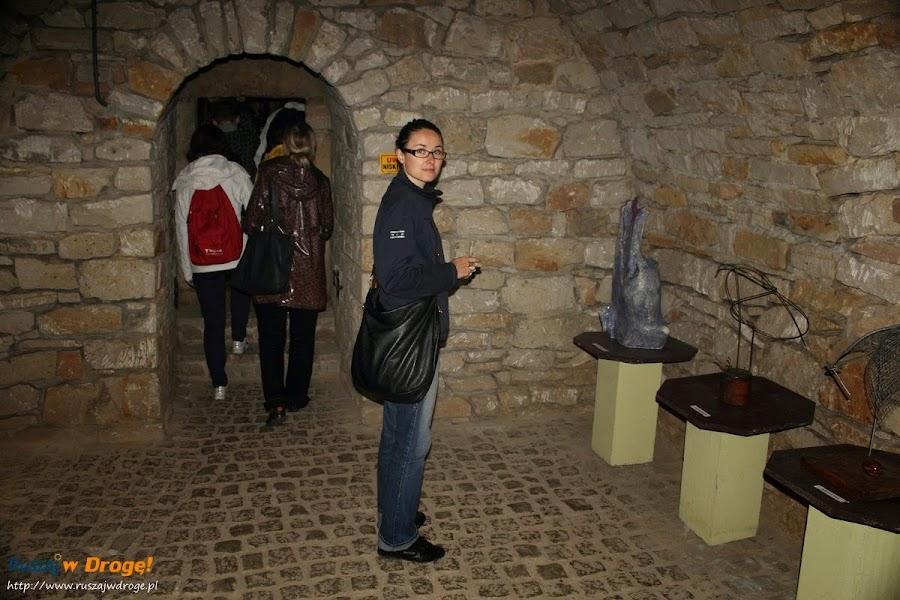 Opatów - podziemna trasa turystyczna - wystawy