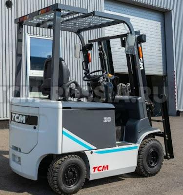Xe nâng điện TCM FB15-9 Nhật Bản