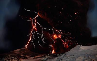 Eyjafjallajokull Volcano - Iceland (April 2010)