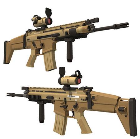 FN SCAR Papercraft