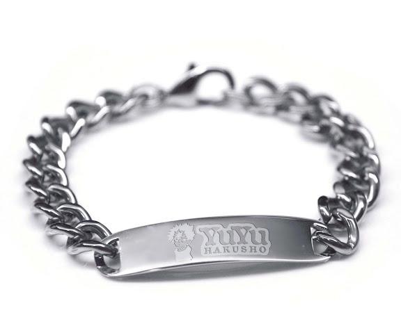 Yu Yu Hakusho HIEI Stainless Steel Bracelet