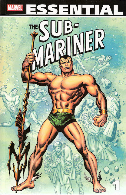 Essential Namor, v. 1 cover
