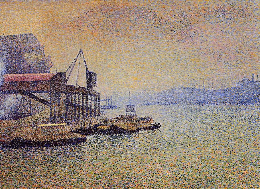 Georges Lemmen - The Thames. the Elevator