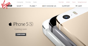 iPhone5s Virgin Mobile