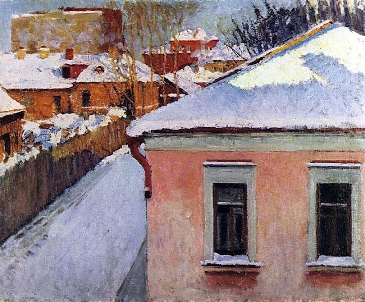 Igor Grabar - Corner of Moscow.