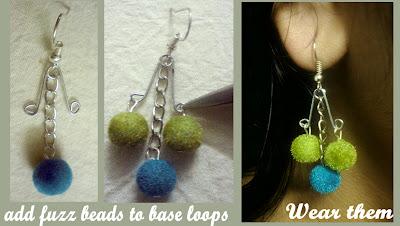 safety+pin+dangler+earrings4 Safety Pin Dangler Earrings 5 Minz Tutorial