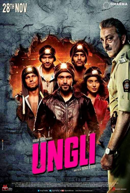 Poster Of Hindi Movie Ungli (2014) Free Download Full New Hindi Movie Watch Online At Alldownloads4u.Com