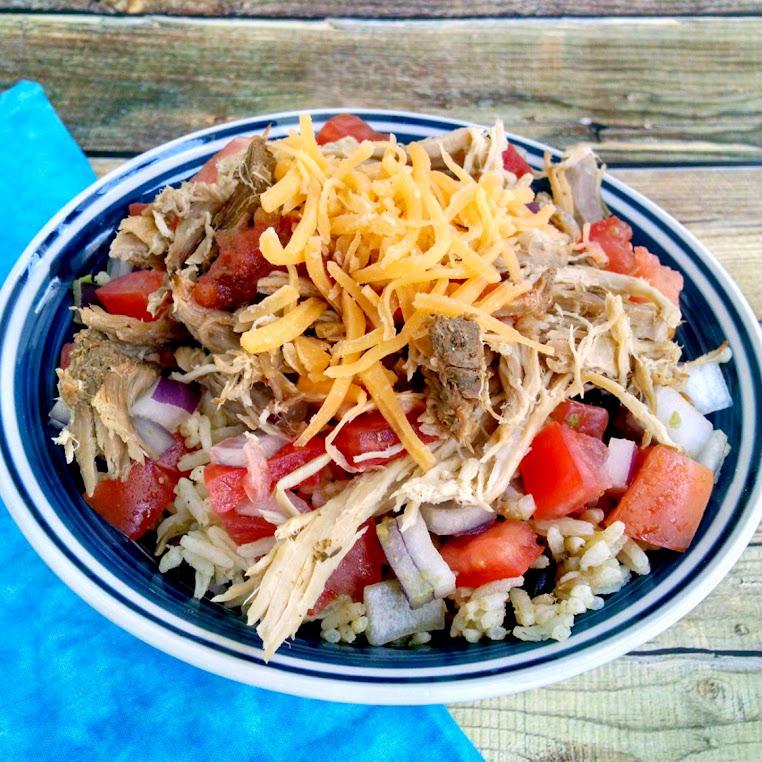 Cuban Style Pork Taco Bowl