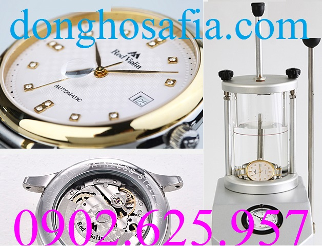 Đồng hồ nam cơ Red Violin CQ4813 RV002
