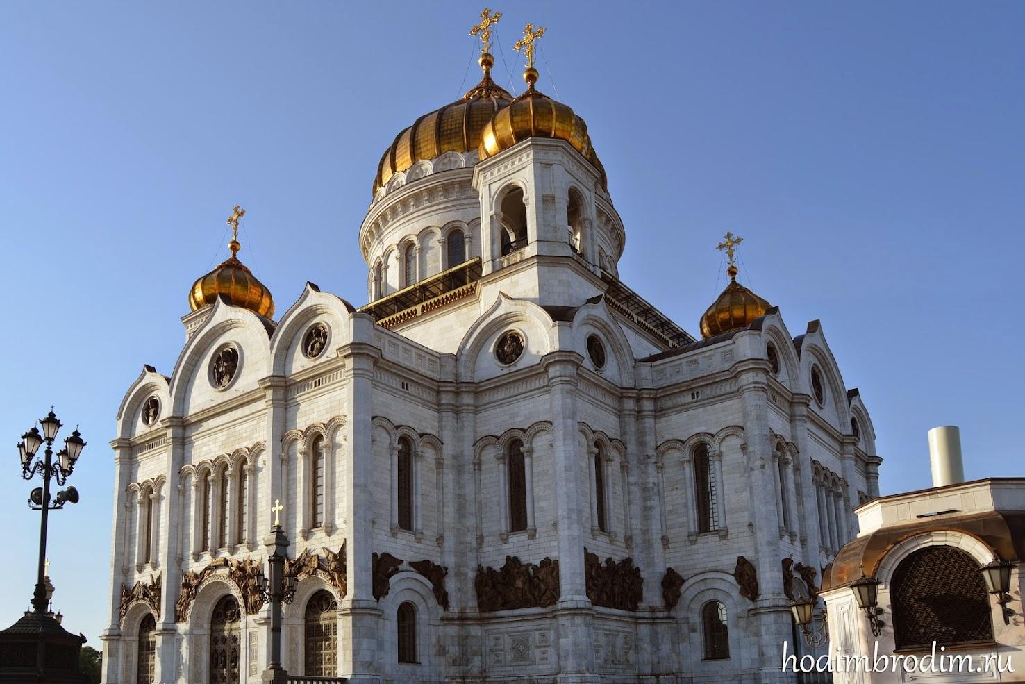 москва храм христа спасителя фото