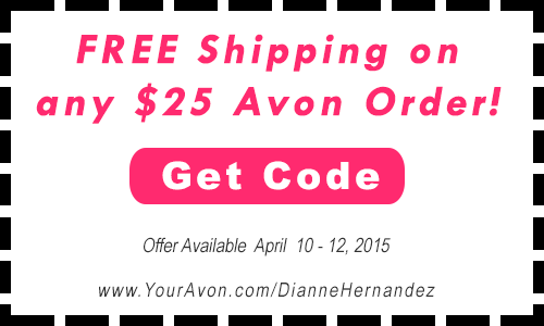 Click to redeem Avon Free Shipping Code