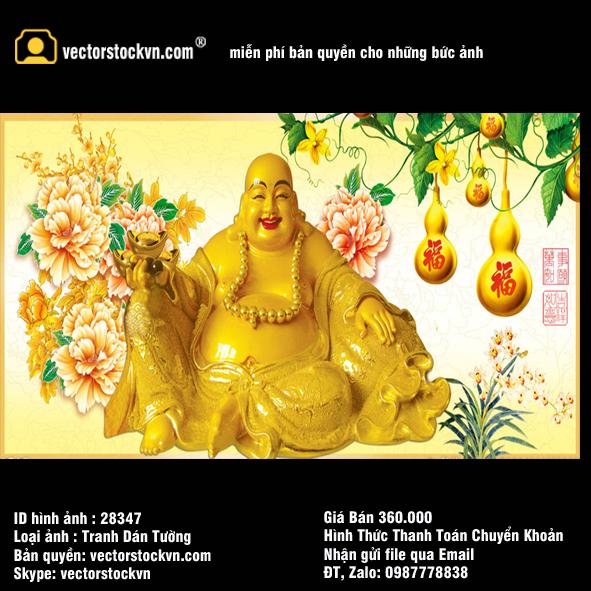 Phật Di lặc file PSD.