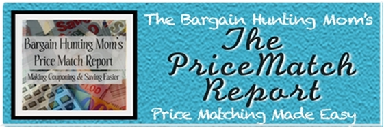 Bargain Hunting Mom's Price Match Report