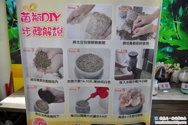 魔菇部落生態休閒農場栽培菇菇步驟