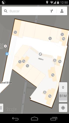 Los intercambiadores de transporte por dentro en Google Maps para móviles