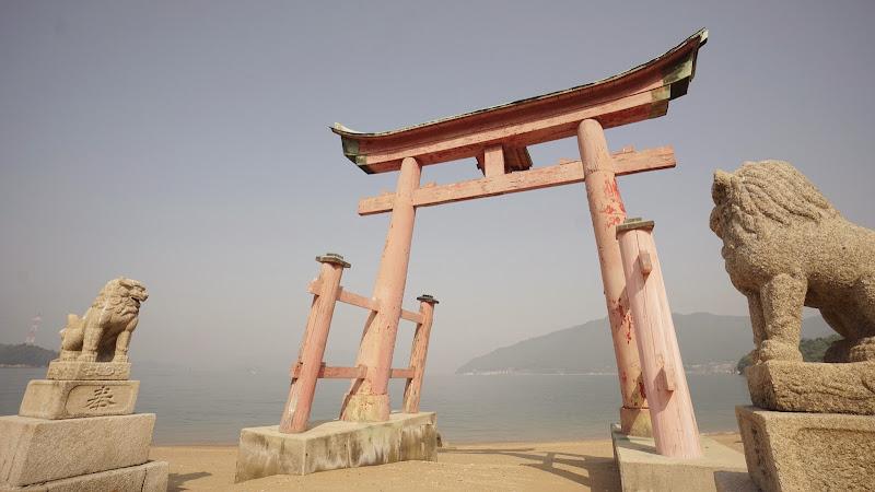 しまなみ海道 岩子島 厳島神社 写真1