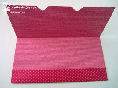 stampin up, envelope punch board, umschlag din lang
