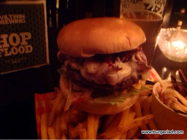 The Firefly Worcester Pastrami Swiss Burger
