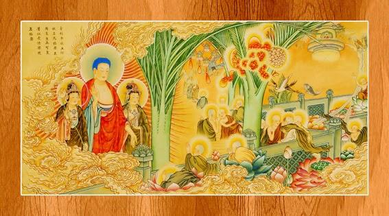 Bộ ảnh đẹp minh họa bản Kinh A Di Đà 3