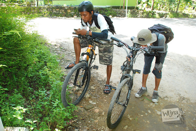 Bersepeda ke Curug Indah Gedangsari, Gunungkidul, Yogyakarta pada Januari 2012