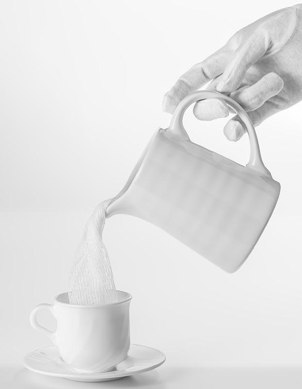 4. Con una nube de leche