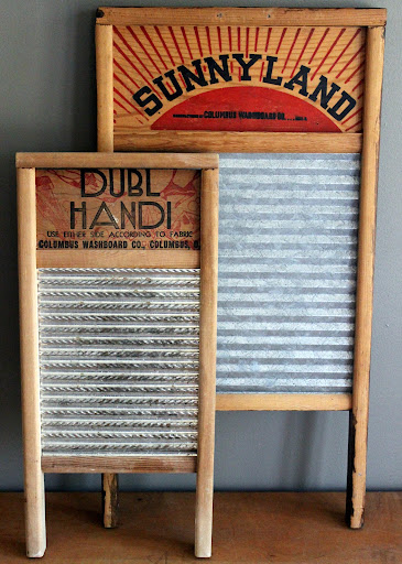 Small washboard available for rent from www.momentarilyyours.com, $2.