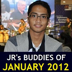 JR's Buddies of January 2012