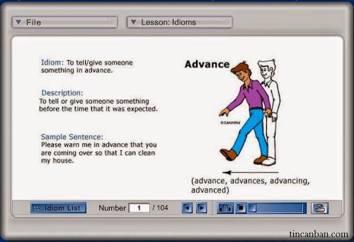 phần mềm Pronunciation Power-Idioms
