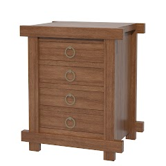 tansu nightstand with drawers