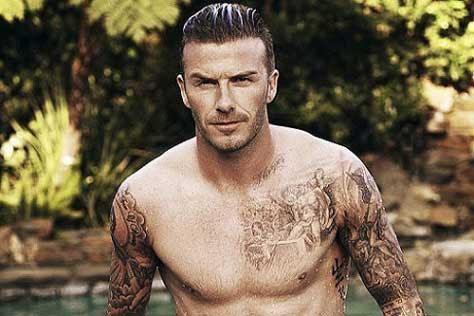 David Beckham, mojado