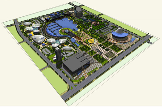 Sketchup gets a warm welcome in china sketchup blog for Garden design sketchup 8