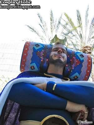 katamari cosplay - king of all cosomos