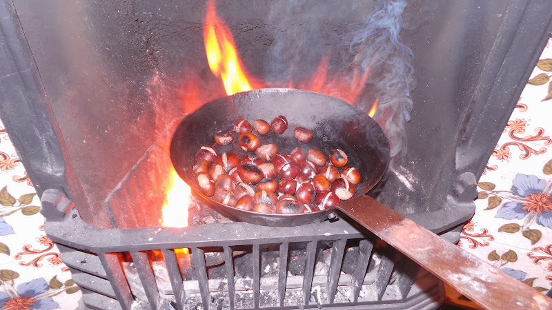 how to make chestnuts roasting on an open fire