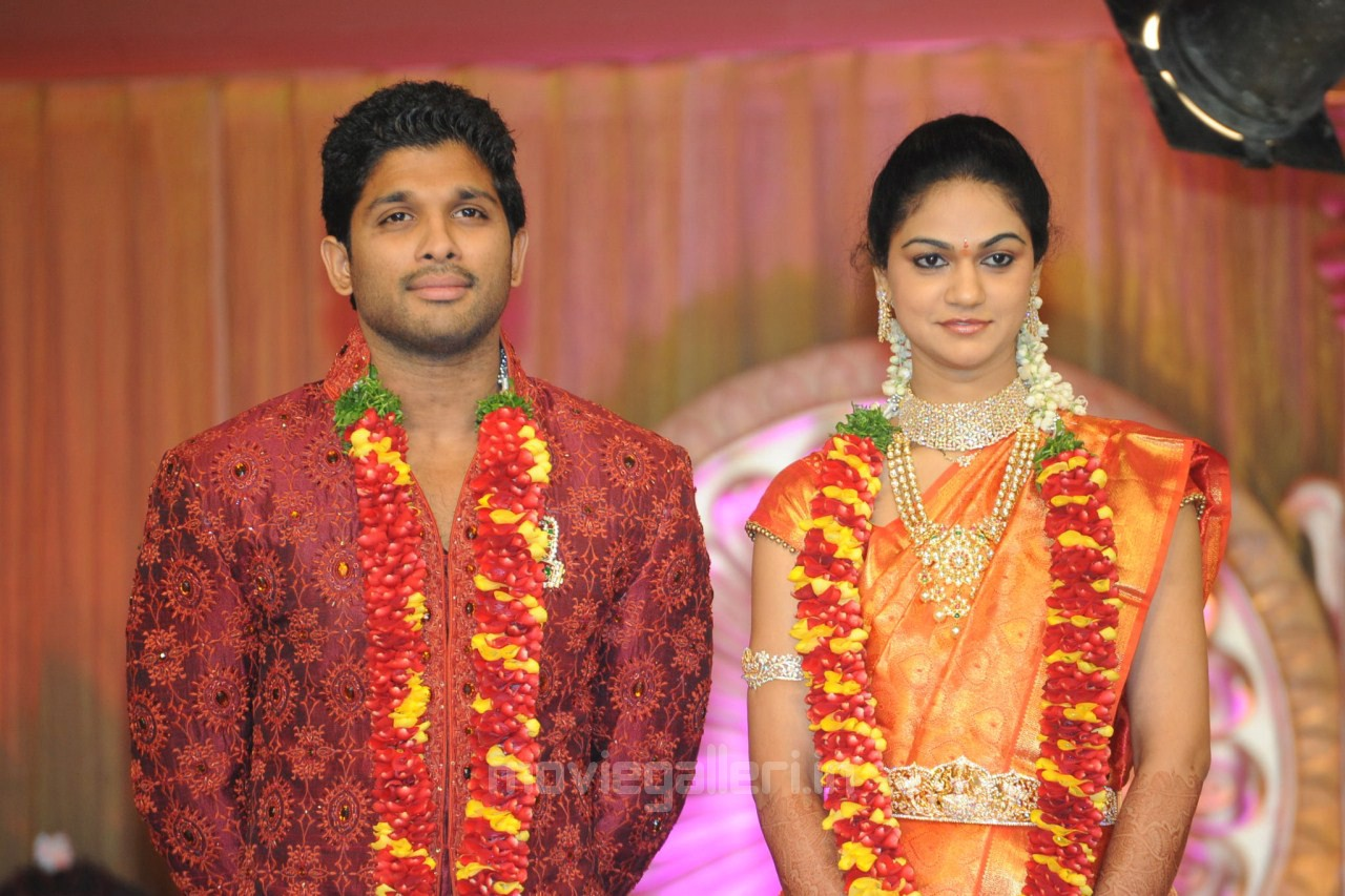 Nitin Reddy Wedding Allu Arjun Sneha Reddy Wedding