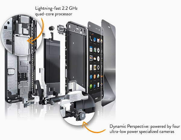 Amazon Fire Phone hardware