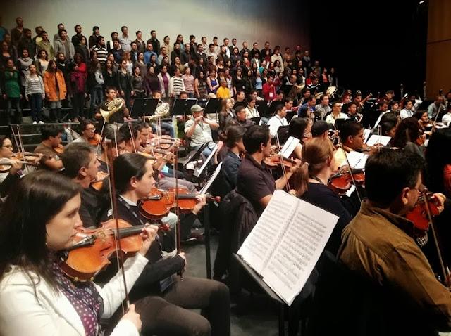 Diego Matheuz y la OSSBV tocaron corazones con la Novena de Beethoven