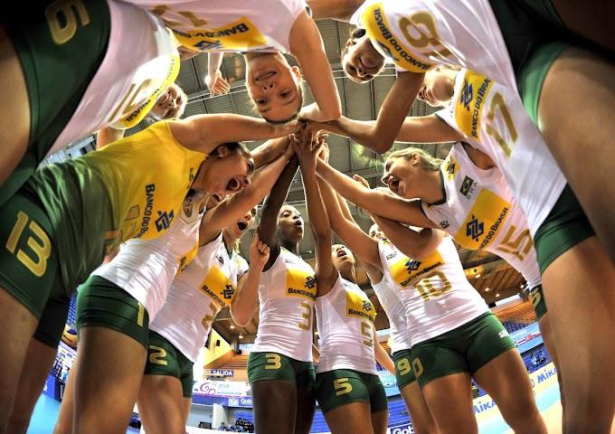Seleção Brasileira Feminina de Vôlei joga em Natal contra a Holanda